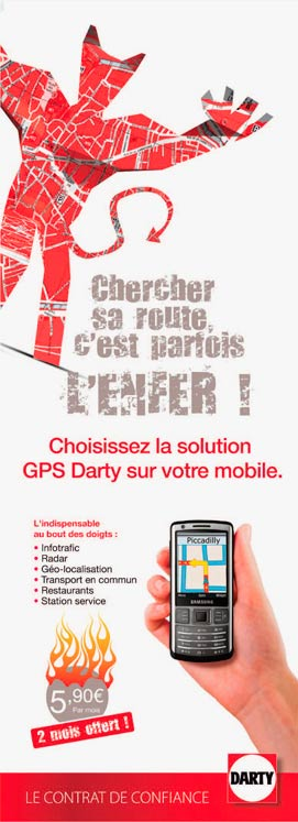 maquette gps darty
