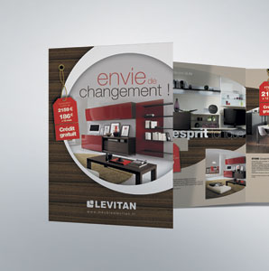 catalogue et brochure print